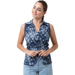 Vêtements Femme Chemises / Chemisiers La Cotonniere GILET KYRA Multicolore