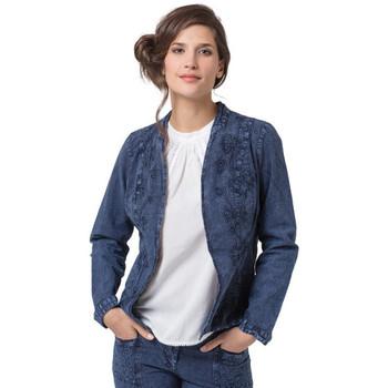 Vêtements Femme Vestes / Blazers La Cotonniere VESTE LORENA Bleu