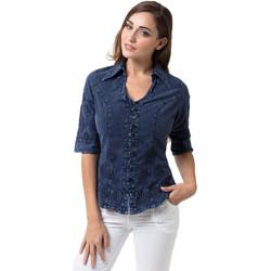 Vêtements Femme Chemises / Chemisiers La Cotonniere CHEMISIER NADEGE Bleu