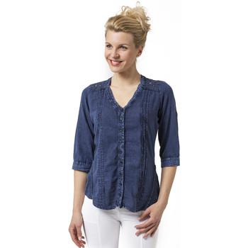 Vêtements Femme Chemises / Chemisiers La Cotonniere CHEMISIER LUDZILLA Bleu