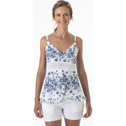 Vêtements Femme Tops / Blouses La Cotonniere TOP FLEUR Multicolore
