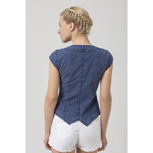 GILET PANDORA  La Cotonniere  tops / blouses  femme  bleu