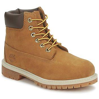 Bottines / Boots Timberland 6 IN PREMIUM WP BOOT rust nubuck with honey 350x350
