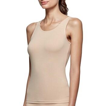 Vêtements Femme Débardeurs / T-shirts sans manche Impetus Débardeur tricot de peau nude femme régule la température Beige