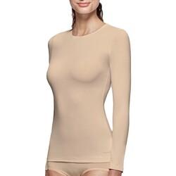 Vêtements Femme T-shirts manches longues Impetus Tricot de peau col rond manches longues nude femme Beige