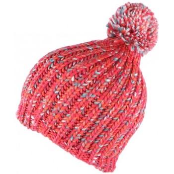 Accessoires textile Bonnets Léon Montane Bonnet long rouge corail et turquoise Koly Leon Montane Rouge