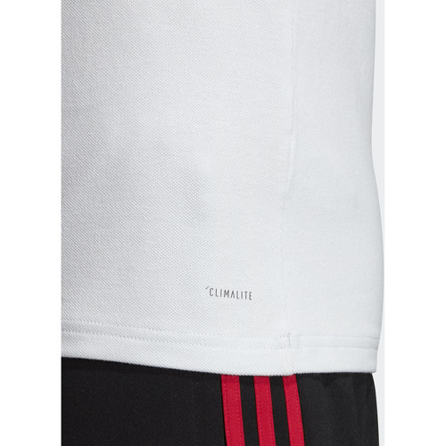 Homme Adidas Manches Courtes Polo Polos Originals Manchester United GrisRouge f6gyvb7Y