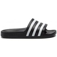Chaussures Mules adidas Originals Adilette Aqua Noir