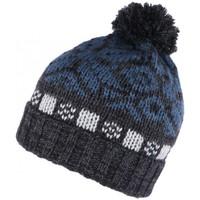 Accessoires textile Bonnets Léon Montane Bonnet pompon noir et bleu Floky Leon Montane Noir