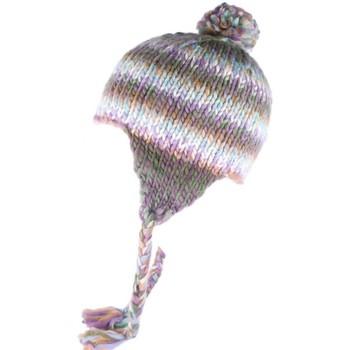Accessoires textile Bonnets Léon Montane Bonnet peruvien bleu et violet  Cuzco Leon Montane Bleu 7185f924ad0