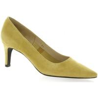 Chaussures Femme Escarpins Vidi Studio Escarpins cuir velours Jaune