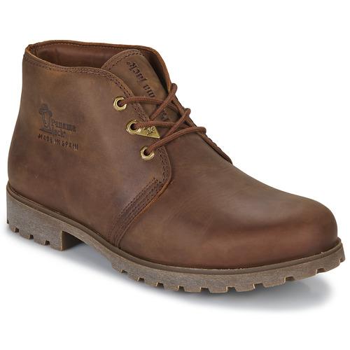 Bottines / Boots Panama Jack BOTA PANAMA Marron 350x350