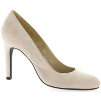 Chaussures Femme Escarpins Vidi Studio Escarpins cuir velours Nude