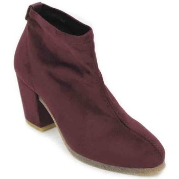 Chaussures Femme Bottines Pedro Miralles Weekend 24451 Botines de Mujer rouge