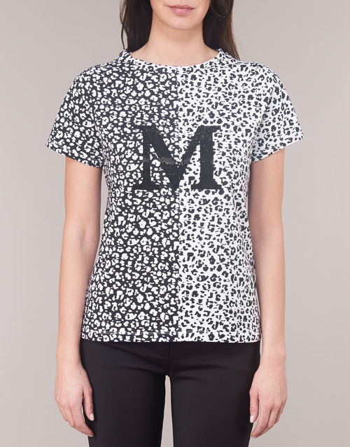 RUNNING WILD  Marciano  t-shirts manches courtes  femme  noir / blanc