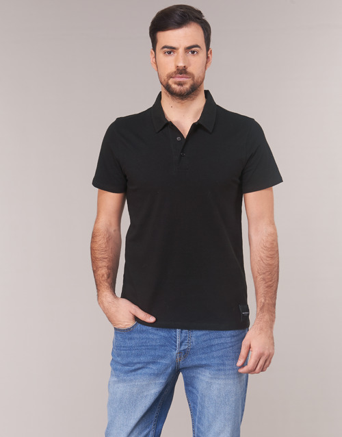 S Polo Marciano Noir Manches Polos s Courtes Homme EIW29YeDHb