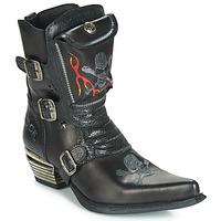 Chaussures Homme Bottes ville New Rock M-WST024-S3 Noir