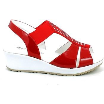Chaussures Femme Sandales et Nu-pieds Confort 7660.11_37 Rouge