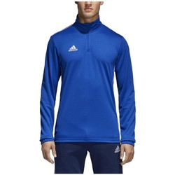 Vêtements Homme T-shirts manches longues adidas Originals Core 18 Training Top Bleu