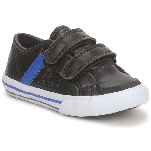 Chaussures Garçon Baskets basses Le Coq Sportif SAINT MALO Noir / Bleu