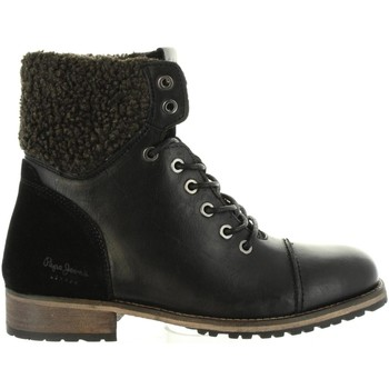 Chaussures Femme Bottes ville Pepe jeans PLS50329 MELTING Negro