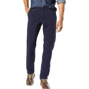 Vêtements Homme Pantalons 5 poches Dockers ALPHA KHAKI 360 Bleu