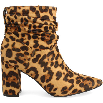 Chaussures Femme Bottines Buonarotti 1JB-18436 Camel