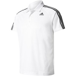 Vêtements Homme Polos manches courtes adidas Originals Designed 2 Move 3-Stripes Blanc