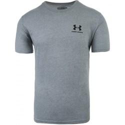Vêtements Homme T-shirts manches courtes Under Armour Sportstyle Left Chest Gris