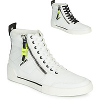 Chaussures Homme Baskets montantes Diesel S-DVELOWS Blanc