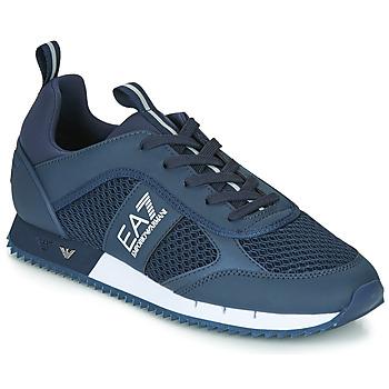 Chaussures Homme Baskets basses Emporio Armani EA7 BLACK&WHITE LACES U Bleu