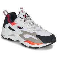 Chaussures Homme Baskets basses Fila RAY TRACER Blanc / Bleu