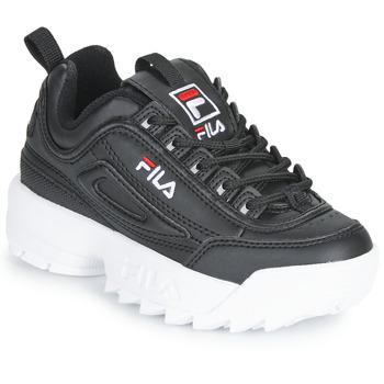 Chaussures Enfant Baskets basses Fila DISRUPTOR KIDS Noir