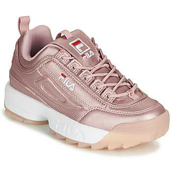 Chaussures Femme Baskets basses Fila DISRUPTOR  M LOW WMN Rose