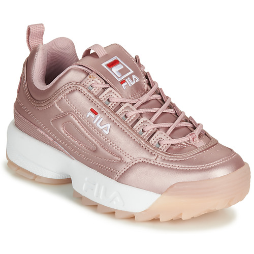 fils chaussures rose
