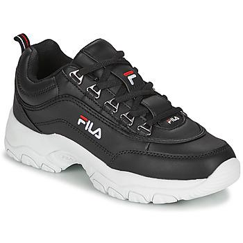 Chaussures Femme Baskets basses Fila STRADA LOW WMN Noir