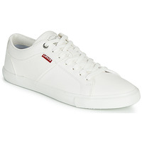 Chaussures Femme Baskets basses Levi's WOODS W Blanc