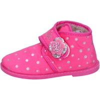 Chaussures Fille Chaussons Lulu fille chaussons rose textile BS44 rose
