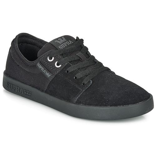 Chaussures Baskets basses Supra STACKS II Noir