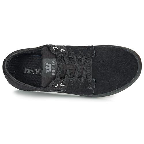 Noir Stacks Supra Ii Baskets Basses Chaussures 35TulFJcK1