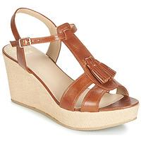 Chaussures Femme Sandales et Nu-pieds Bocage HERLE Cognac
