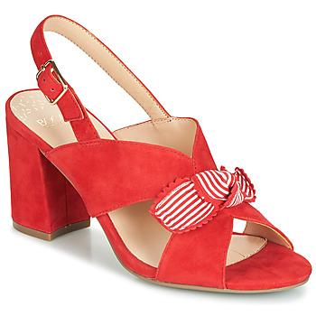 Chaussures Femme Sandales et Nu-pieds Bocage PAULIN Rouge