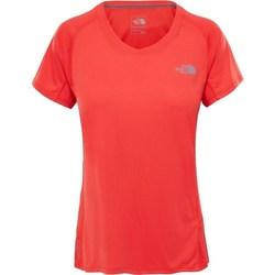 Vêtements Femme T-shirts manches courtes The North Face Tshirt Ambition Orange