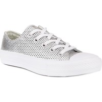 Chaussures Femme Baskets basses Converse Chuck Taylor All Star II Argent
