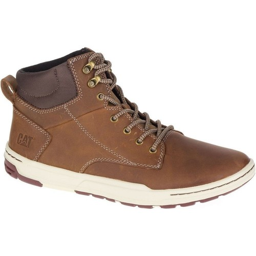 Chaussures Homme Boots Caterpillar Colfax Mid Marron