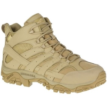 Chaussures Homme Randonnée Merrell Moab 2 Mid Tactical Waterproof Beige