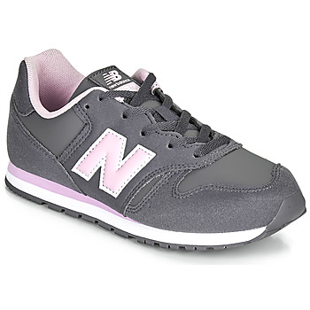 Chaussures Fille Baskets basses New Balance 373 Gris / Rose