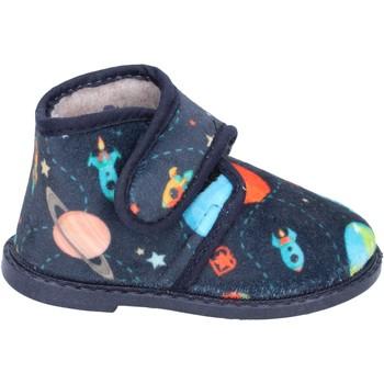 Chaussures Garçon Chaussons Blaike garçon chaussons bleu textile BS50 bleu