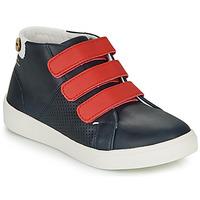 Chaussures Fille Baskets basses Faguo ASPENLOW LEATHER Bleu
