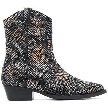 Chaussures Femme Bottines Bronx  Noir